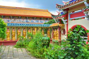 ペナン島 の中華風建物