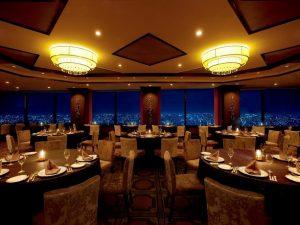 静岡エコパアリーナ近くのオークラアクトシティホテル浜松のレストラン