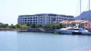 ランカウイ島の港