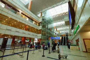ヤンゴン国際空港出発ロビー