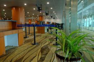 ヤンゴン国際空港ロビー