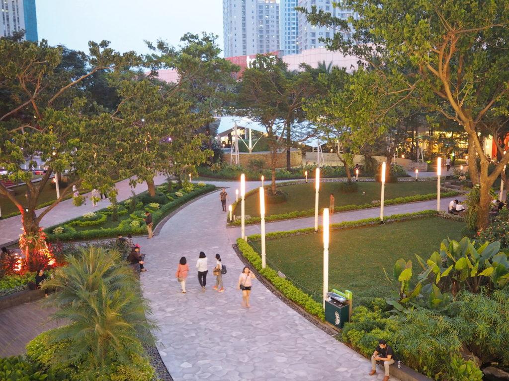 ジャカルタの公園