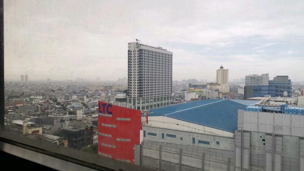 ジャカルタの街の景色