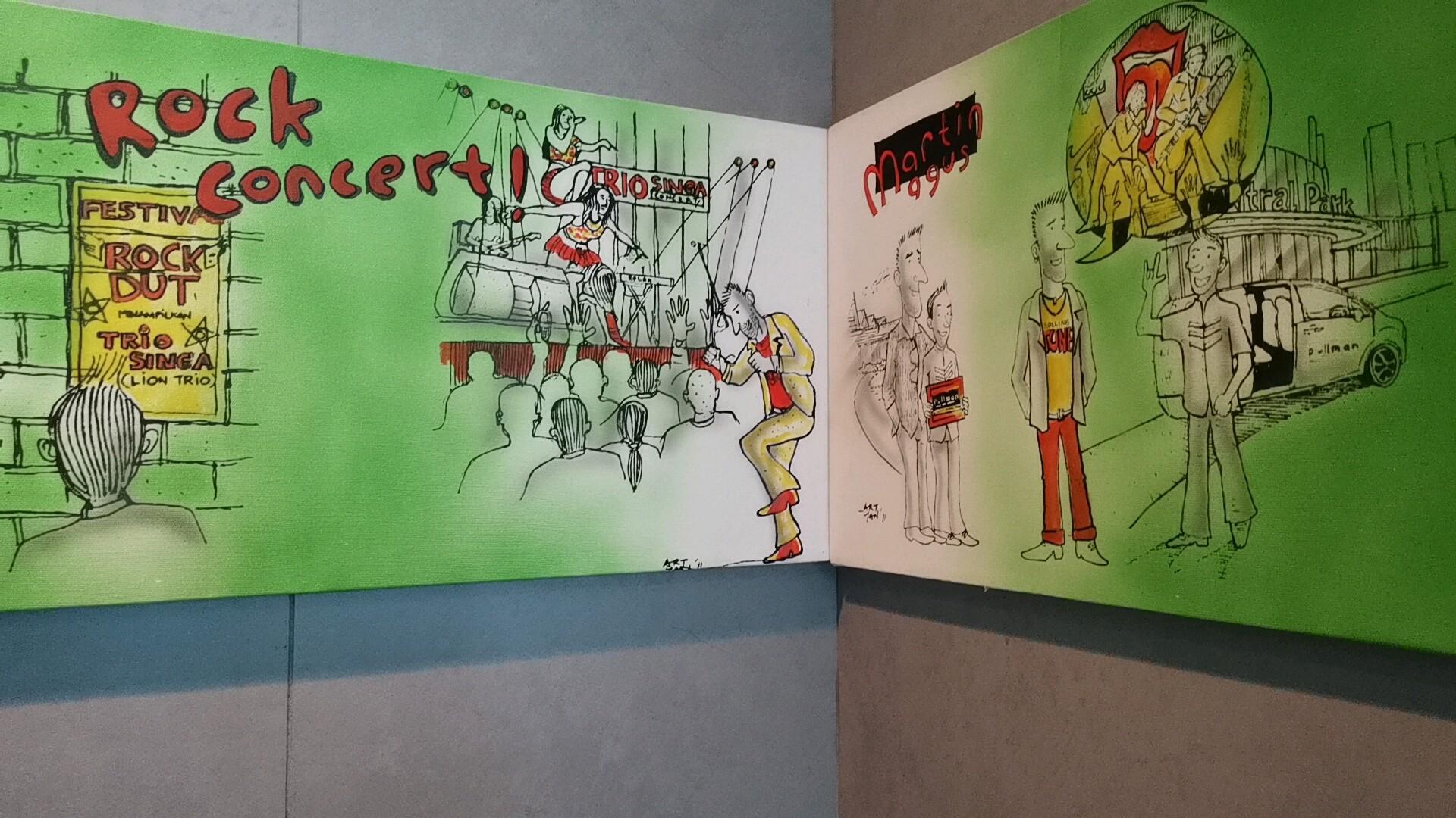 客室のアート作品