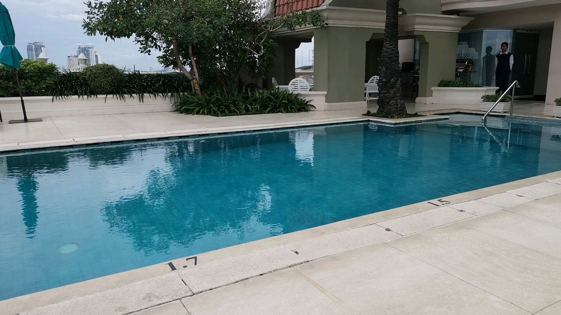 グランマハカムのプール