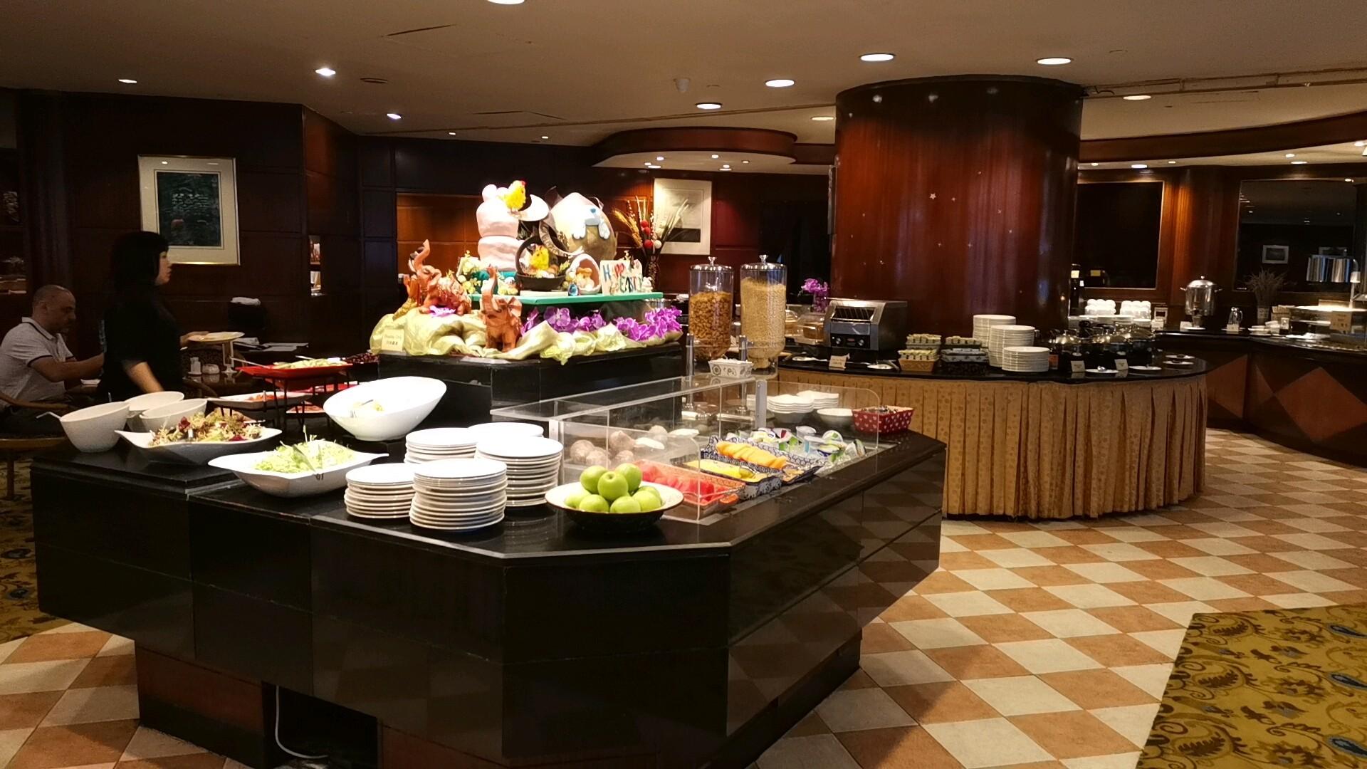 キンバリーホテル朝食会場