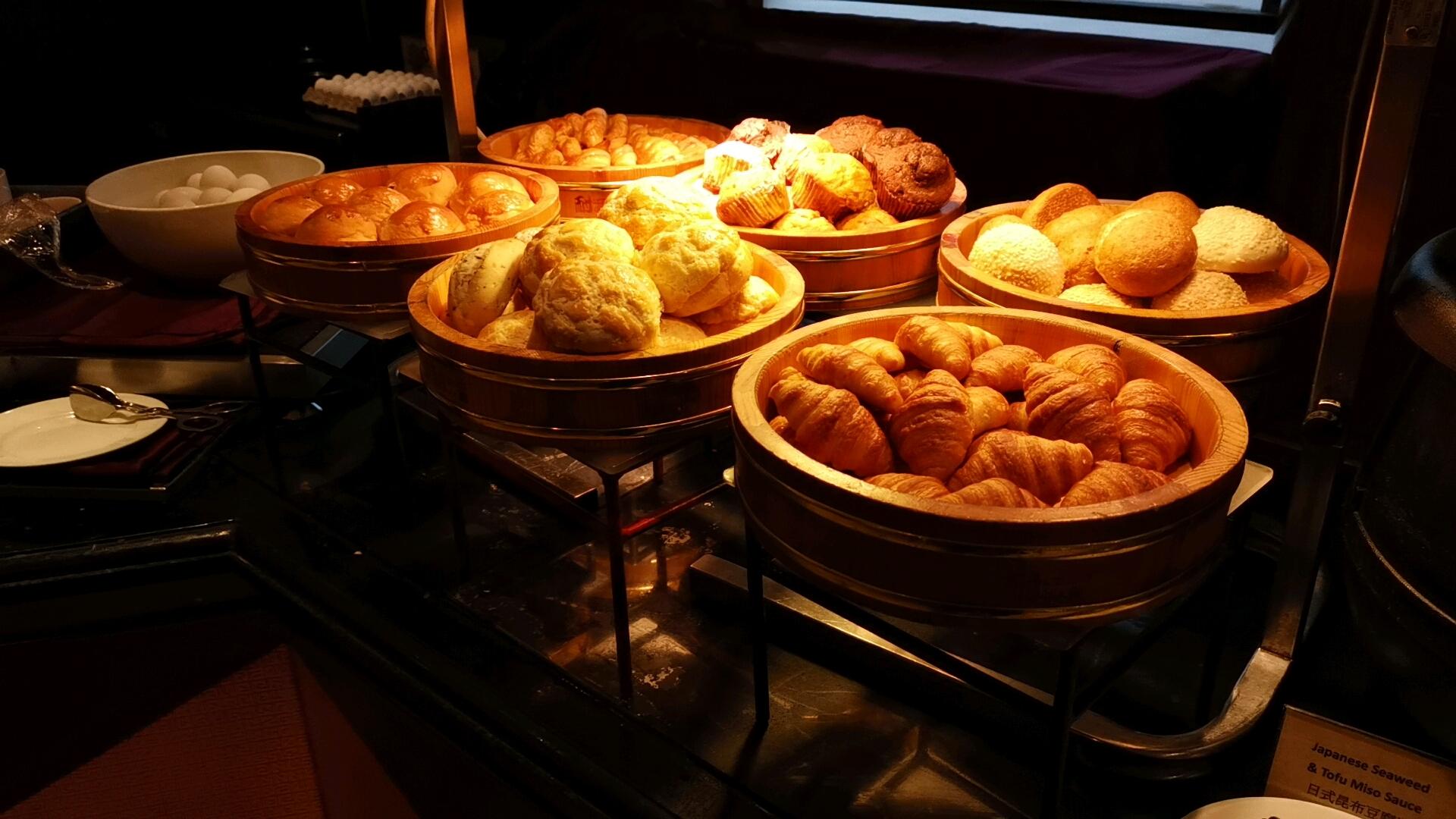 キンバリーホテルのパンコーナー