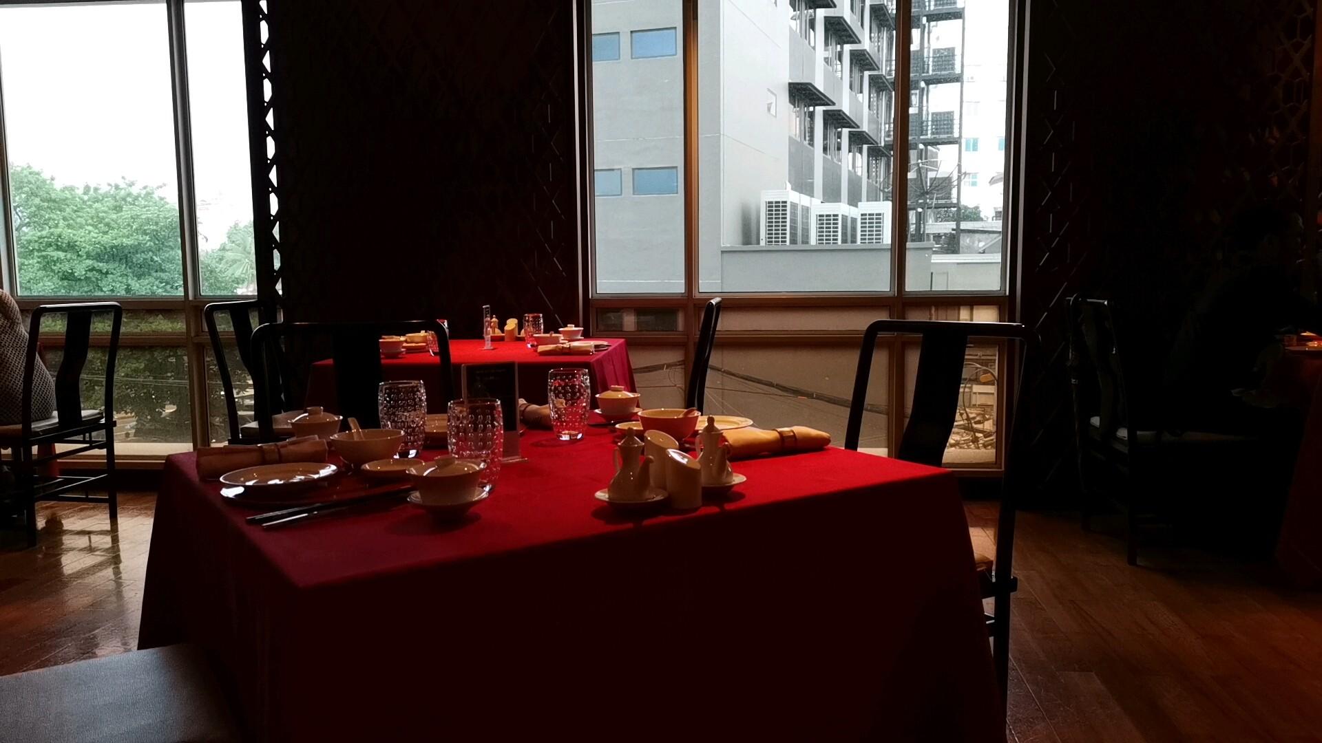 パークロイヤルヤンゴン中華レストラン