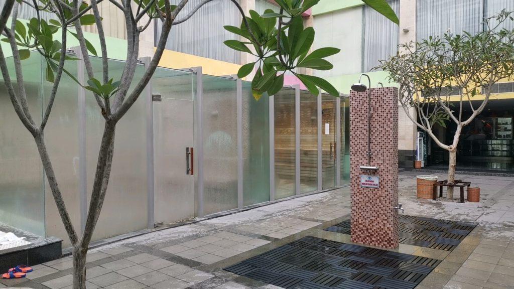 FM7リゾートホテルジャカルタエアポートのサウナ