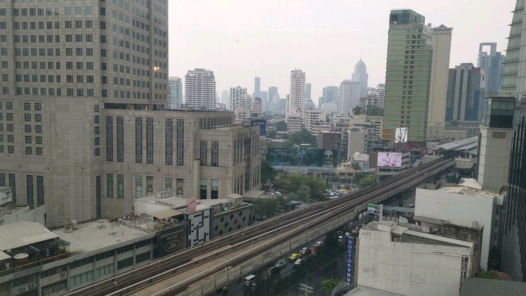 ジャスミンホテルからの眺め