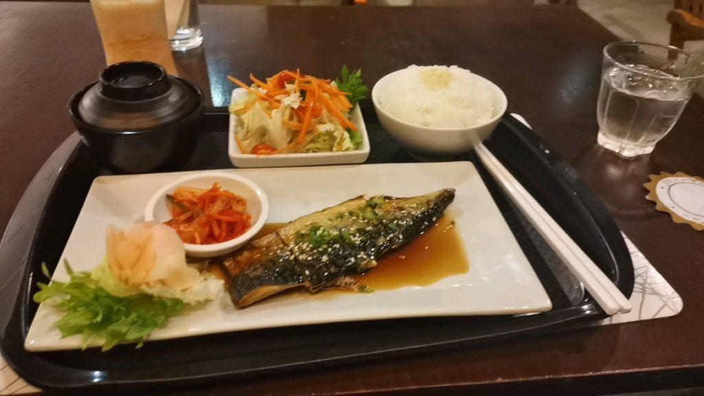 ジャスミンシティホテルのレストランで提供された料理