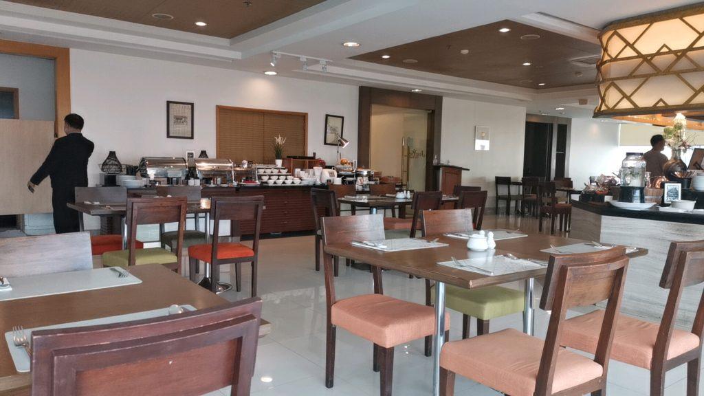 ジャスミンシティホテルの朝食ビッフェ
