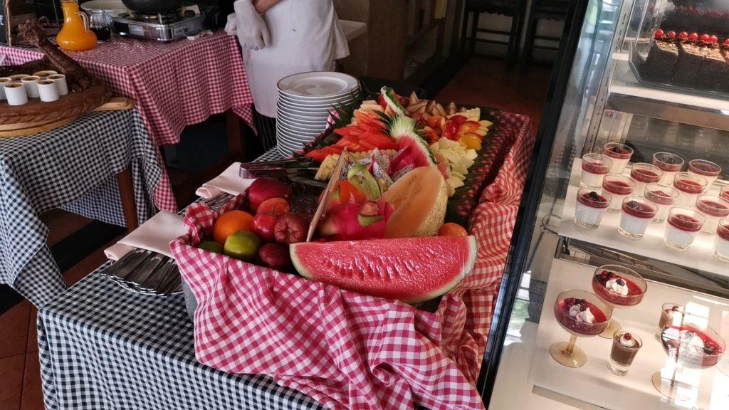 ダヴィンチレストランの果実