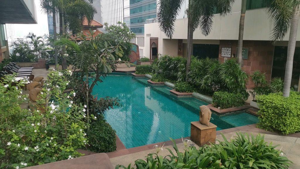 ジャスミンシティホテルのプール