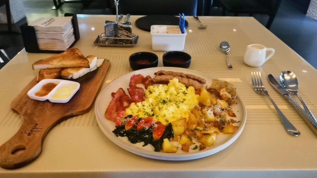 スクインビットスイーツホテルの朝食