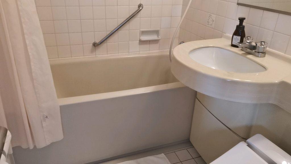 ホテルフランクスの洗面所