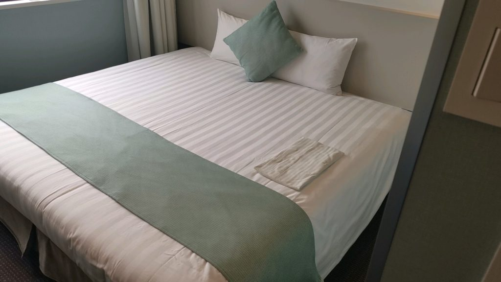 ホテルフランクスのベッド