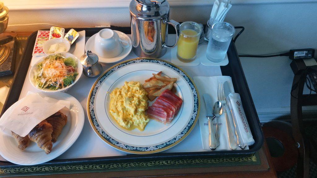 ホテルザマンハッタンの朝食